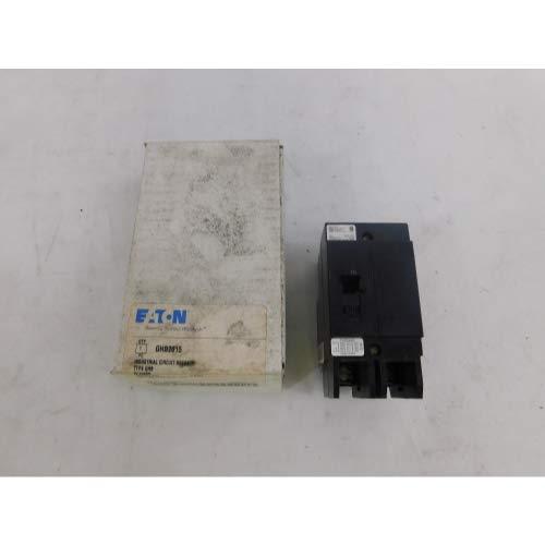 Eaton GHB2015 Bolt-On Mount Type GHB Molded Case Circuit Breaker 2-Pole 15 Amp 277/480 Volt AC 125/250 Volt DC