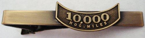 Harley Davidson HOG Motorcycle Mileage Rocker 10K 10000 Miles Replica Tie Bar Clip