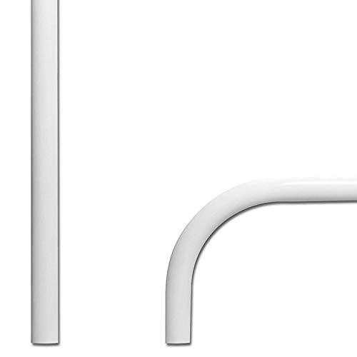 (SAFTRON White Figure 4 Swimming Pool Grab Rail - P-326-RTD-W)