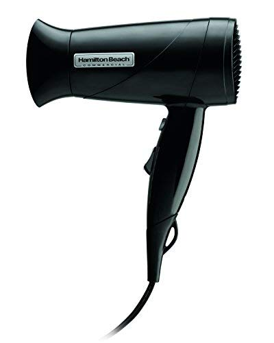 Hamilton Beach Commercial HHD610 Black Midsize Hand Held Hair Blow Dryer with Cool Shot, 1600 Watts