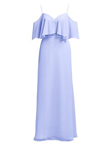 Maxi Chiffon Long Party Bridesmaid Evening Dress Alicepub Dresses Lavender xzZqRHqw