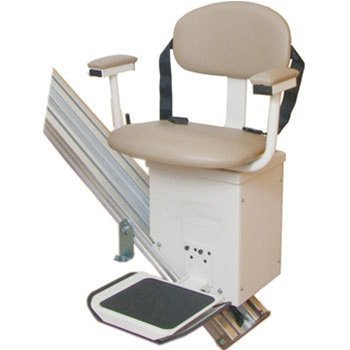 Stair Lift with Extra Wide Seat & Standard Factory Warranty by Harmar