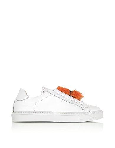 Joshua Sanders Women's 10197 White Leather Sneakers xql0qMp6