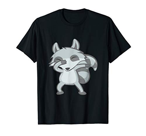 Cute Dabbing Raccoon Shirt Animal Costume Funny Dance Pajama