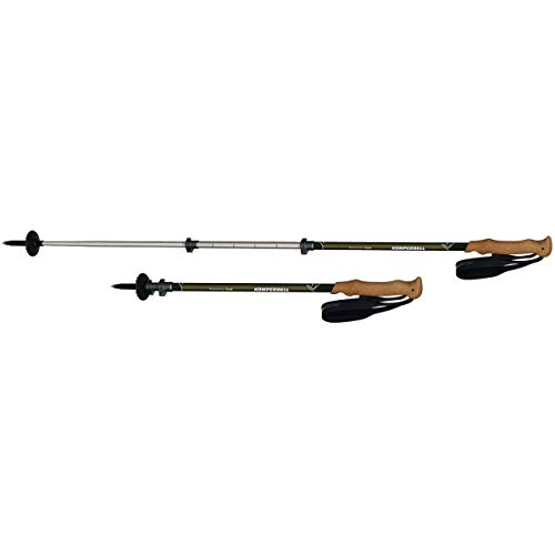 Komperdell Ridgehiker Cork Powerlock Trekking Poles - 105-140cm