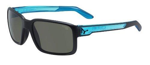 Cebe Dude Sport Active XSF 1500 Lens Category 3 Sunglasses - Matt Black/Cristal Blue, X-Small by - Cebe Lenses 1500