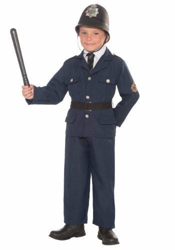 Forum Novelties British Bobbie Police Officer Child's Costume, Large