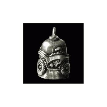 BUFFALO SKULL Gremlin Bell biker harley motorcycle good luck charm