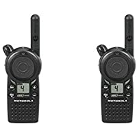 2 Pack of Motorola CLS1410 1 Watt Business Two-Way Radio with 4 Channels 121 Interference Codes 5 mile range