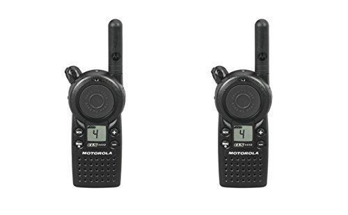 2 Pack of Motorola CLS1410 1 Watt Business Two-Way Radio with 4 Channels 121 Interference Codes 5 mile range by Motorola