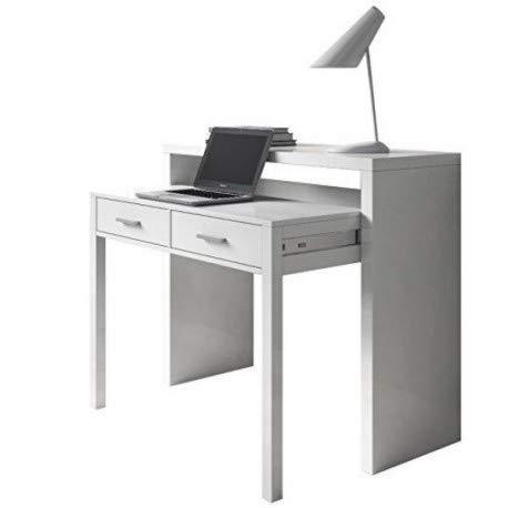 Mesa Consola mesas de Estudio Blanco mju2010005-DESKandSIT ...