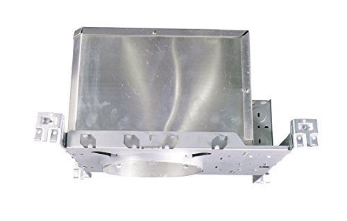 NICOR Lighting 6-Inch Non-IC Rated 26-Watt to 42-Watt Fluorescent Vertical Housing with Electronic Ballast (17010AEBM2642)
