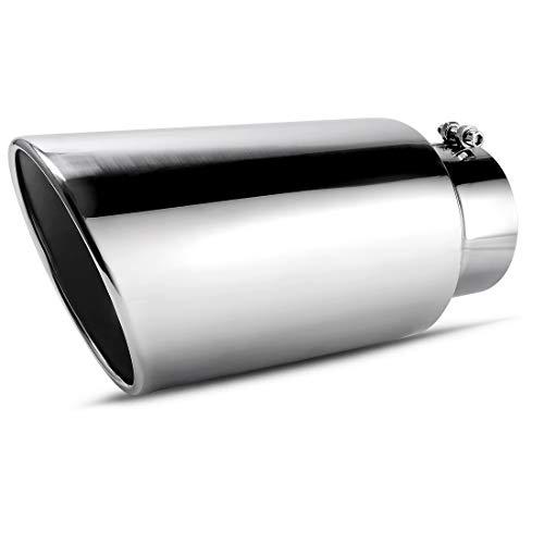 Exhaust Tip, AUTOSAVER88 Diesel Exhaust Tailpipe Tip for Truck, 5