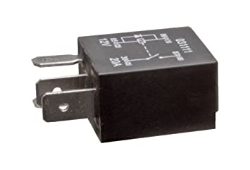 XtremeAuto Micro Relay 4 pin 12v 20A with Resistor Amazoncouk