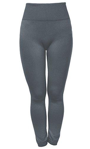 Amoretu Women Seamless Soft High Waist Elastic and Slimming Workout Leggings ()