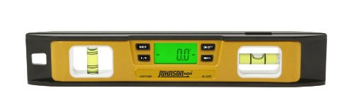 Johnson Level & Tool 1457-1000 10-Inch Magnetic Electronic Digital Torpedo (Magnetic Super Torpedo Level)