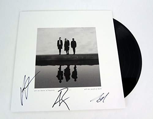 PVRIS Entire Band Signed Autograph All We Know of Heaven, All We Need Of Hell Vinyl Record Album COA