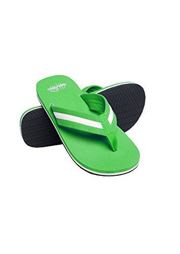 Urban Classics Unisex-Erwachsene Beach Slippers Slipper lgr/wht