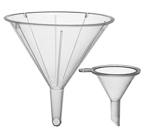 Funnels for Essential Oils - 6 Pack - 2 sizes - 2-5/16