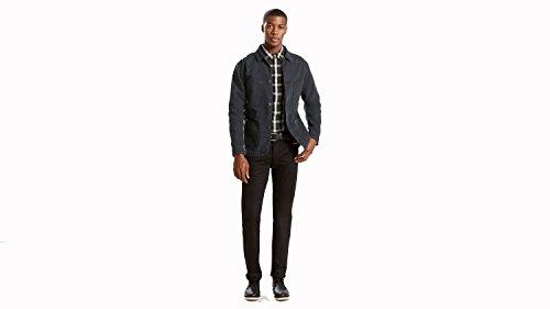 Levi's Mens Men's 501 Original Polished Black Jeans