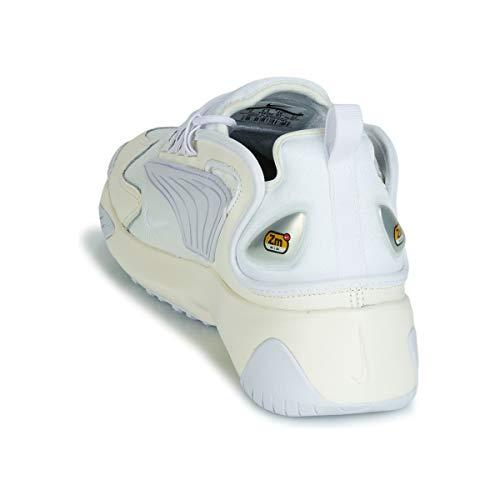 Weiß Blanc Blanc Nike 2k Modã¨le Basket Basket Couleur Zoom Marque zqnSwzrO