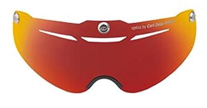 Amazoncom Giro Air Attack Eye Shield Amber Red One Size