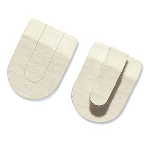 Physical Therapy AIDS Hapad Horseshoe Heel Pads, 3''