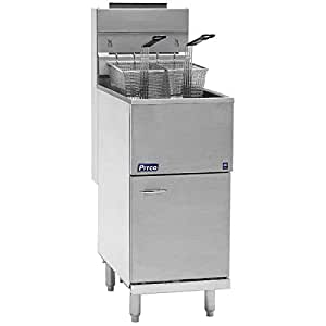 Amazon.com: Propane Pitco 40D Tube Fired Gas Floor Fryer