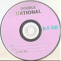 8.5 GB DVD NATIONAL 10 PCS
