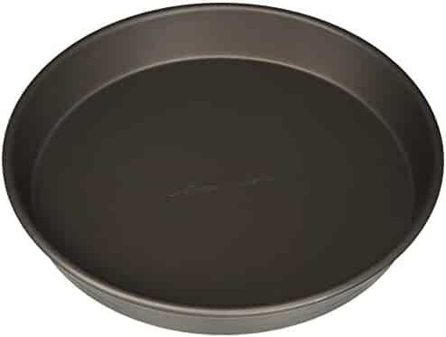 LloydPans 10 Inch by 1.5 Inch  Deep Dish Pizza Pan, Pre-Seasoned, Stick Resistant, Case of 12