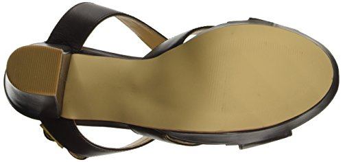 BPrivate E0802x - Sandalias de tacón Mujer Marrón
