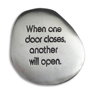 SOOTHING STONES - When One Door Closes - ANOTHER Will OPEN - INSPIRATIONAL Gift -Worry  sc 1 st  Amazon.com & Amazon.com: SOOTHING STONES - When One Door Closes - ANOTHER Will ...