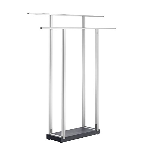 blomus 68695 Polished Double Towel Stand by Blomus