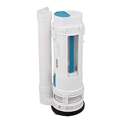 "Toilet Push Button Valve Replacment Dual Flush 9.84inch Height Fit for Drain Diameter 2.56-3.07"""