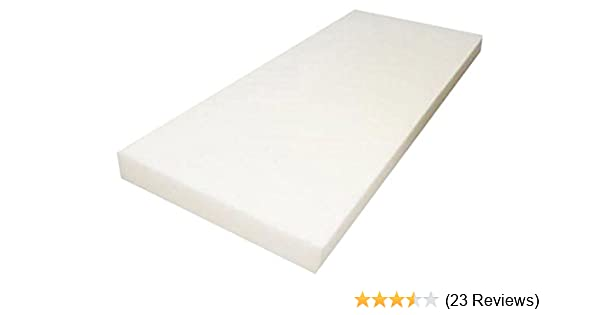 Upholstery Cushion Made in USA Firm GoTo Foam 4 Height x 20 Width x 69 Length 44ILD