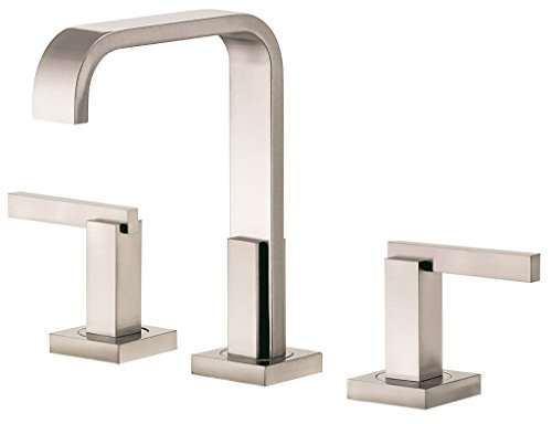 Danze D304644BN Sirius Two Handle Mini-Widespread Lavatory Faucet, Brushed Nickel