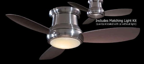 Minka-Aire F519-BN, Concept II, 52'' Ceiling Fan, Brushed Nickel by Minka Aire