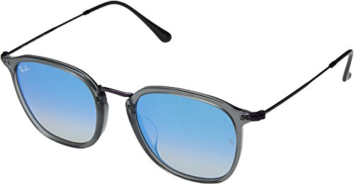 Ray-Ban Unisex 0RB2448NF 53mm Transparent Grey One - Size Medium Ban Ray