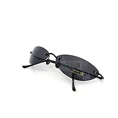 Amazon.com: wearkaper Rimless clásico anteojos Matrix ...