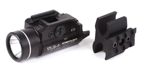Streamlight TLR-1 Tactical Flashlight with CDM Gear BMT Shotgun Mount