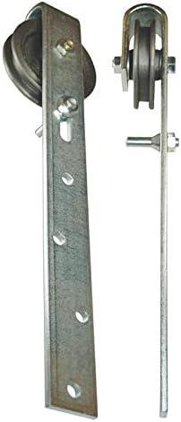 Bauer 102408 - Rueda para raíl de puerta corredera (120 mm, para 100 kg de carga máximo): Amazon.es: Bricolaje y herramientas
