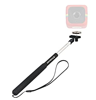 """Polaroid 37"""" Selfie Stick/Monopod Magnet to Tripod Adapter Mount Cube, Cube+ Action Camera - Mount Your Cube to The Selfie Stick (B00WRKA8NU) 