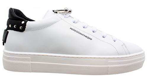 Paloma Blanco Espárragos Calzado Mujer Rebecca Rmppcf31 Minkoff Piel Sneakers qOPxwBg