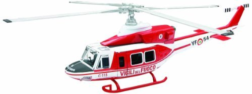 Agusta Bell 412 Vigili Del Fuoco Helicopter 1:48 Model 25753 by New Ray
