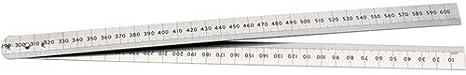 3X600mm StainlessSteel Metric//Imperial Folding Rule
