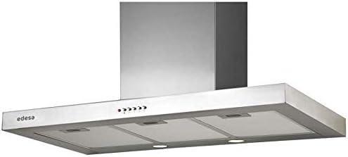 Edesa URBAN-BOX91X - Campana (Canalizado/Recirculación, 780 m³/h, 72 Db, Montado en pared, Incandescente, Acero inoxidable): Amazon.es: Grandes electrodomésticos