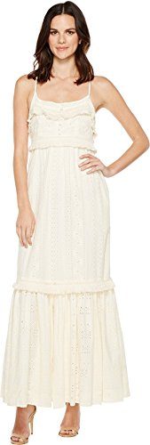 Boho-Chic Vacation & Fall Looks - Standard & Plus Size Styless - Rachel Zoe Women's Riley Gown, Ecru, 10