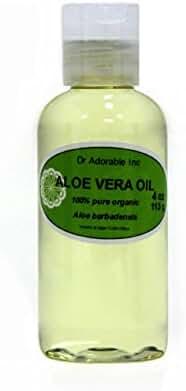 Aloe Vera Oil Pure Organic Cold Pressed by Dr.Adorable 4 Oz