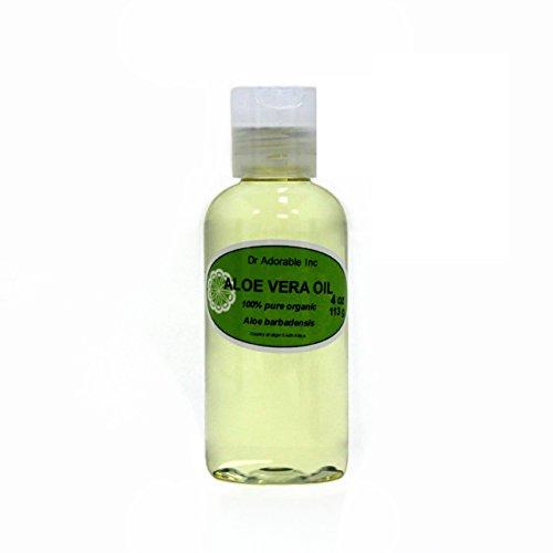 Organic Pure Carrier Oils Cold Pressed 4 oz (Aloe Vera Oil)