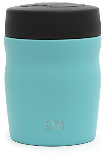 Simple Modern Rover - 12oz Rover Food Jar - Kids Vacuum Insulated Thermos 18/8 Stainless Steel Leak Proof Hydro Lunch Box Baby Food Storage Container Flask - Caribbean by Simple Modern (Image #2)